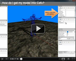 Cafu Model Editor How-To